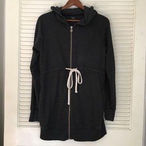 Gap Maternity Hooded Zip-up Sweatshirt